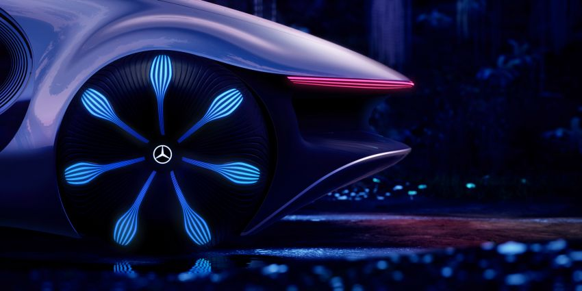 Mercedes-Benz Vision AVTR debuts at CES – <em>Avatar</em>-inspired concept offers a sci-fi glimpse of the future Image #1065790