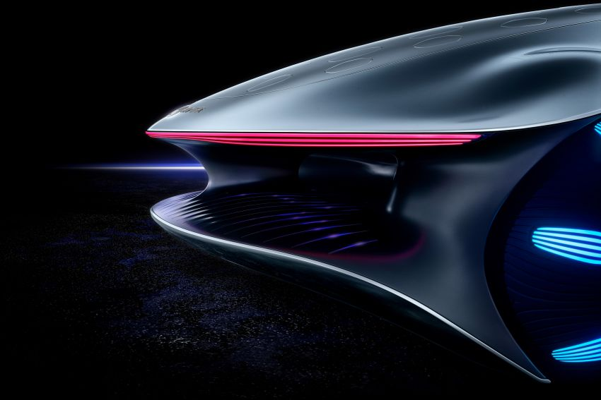 Mercedes-Benz Vision AVTR debuts at CES – <em>Avatar</em>-inspired concept offers a sci-fi glimpse of the future Image #1065795