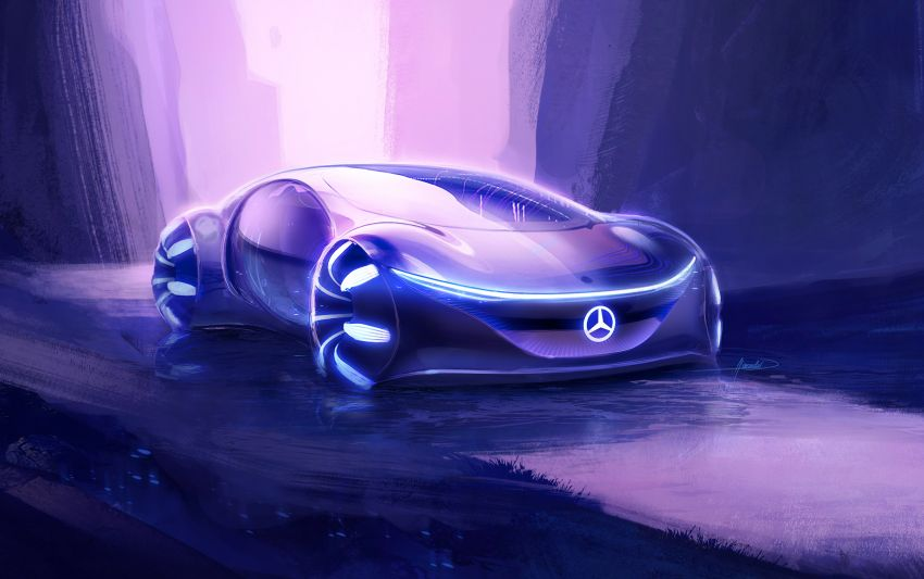 Mercedes-Benz Vision AVTR debuts at CES – <em>Avatar</em>-inspired concept offers a sci-fi glimpse of the future Image #1065797