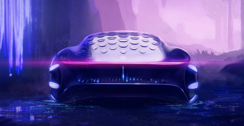 Mercedes-Benz Vision AVTR debuts at CES – <em>Avatar</em>-inspired concept offers a sci-fi glimpse of the future Image #1065799