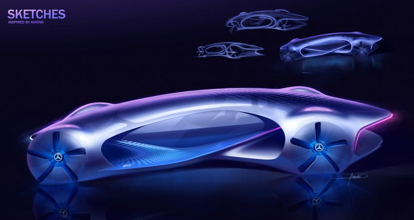 Mercedes-Benz Vision AVTR debuts at CES – <em>Avatar</em>-inspired concept offers a sci-fi glimpse of the future Image #1065801
