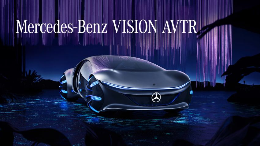 Mercedes-Benz Vision AVTR debuts at CES – <em>Avatar</em>-inspired concept offers a sci-fi glimpse of the future Image #1065807