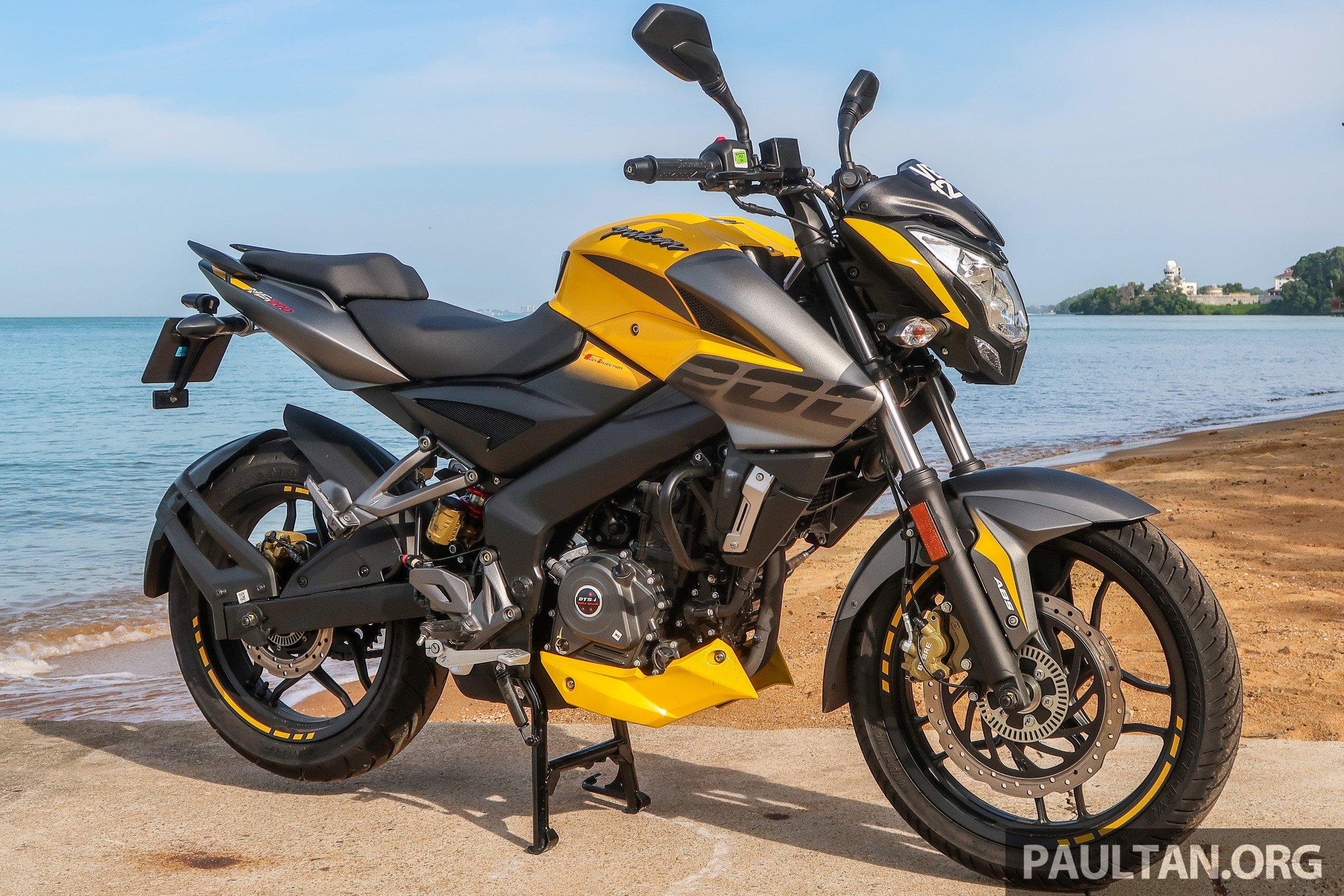 TUNGGANG UJI: Modenas Pulsar NS200 ABS 2020 - berpotensi ...