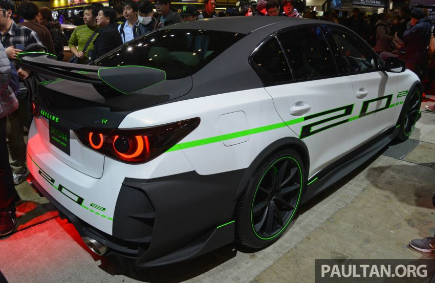 TAS 2020: Nissan Skyline 400R Sprint Concept debuts – 3.0 litre twin-turbo V6 engine with 405 PS and 475 Nm Image #1069749