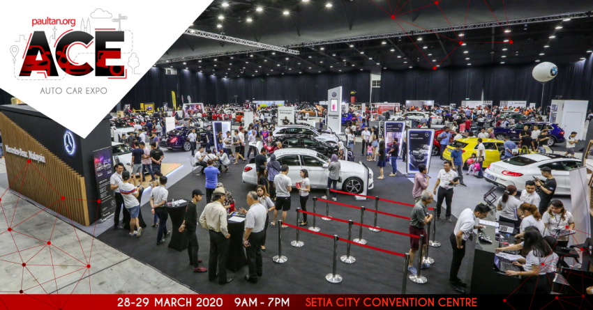 <em>paultan.org</em> ACE 2020 at Setia City Convention Centre in end-March – get the best deals on your next car! Image #1071303