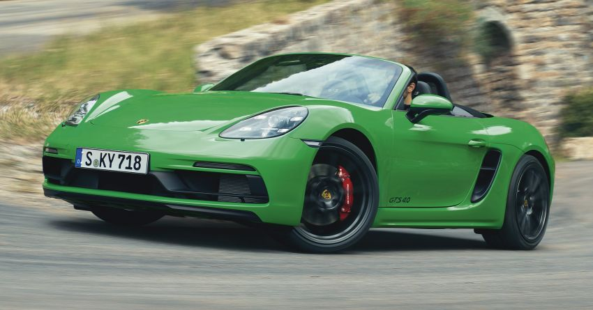 Porsche 718 Cayman and Boxster GTS 4.0 revealed – 400 PS 4L flat-six, manual, 0-100 km/h in 4.5 seconds Image #1070550