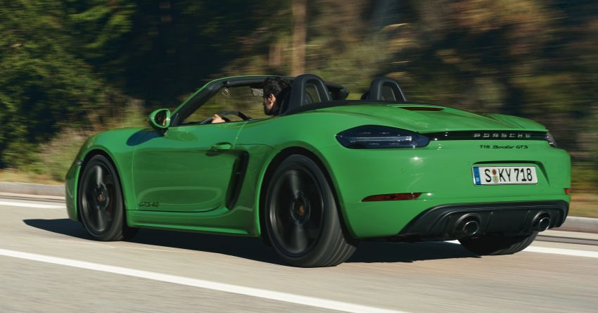 Porsche 718 Cayman and Boxster GTS 4.0 revealed – 400 PS 4L flat-six, manual, 0-100 km/h in 4.5 seconds Image #1070551
