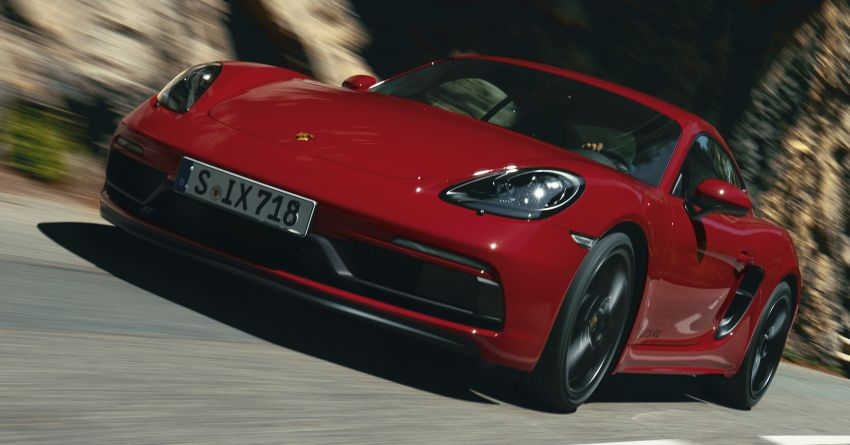 Porsche 718 Cayman and Boxster GTS 4.0 revealed – 400 PS 4L flat-six, manual, 0-100 km/h in 4.5 seconds Image #1070553