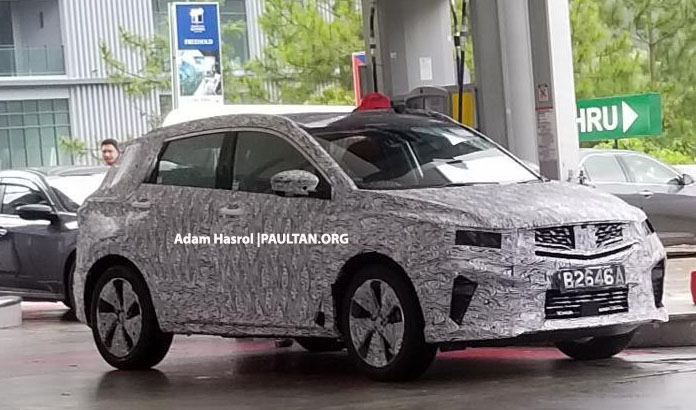 SPYSHOTS: Proton X50 with local Infinite Weave grille Image #1064907