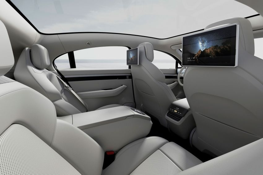 Sony Vision-S concept car unveiled at CES 2020; dual-motor powertrain, provision for Level 4 self-driving Image #1065616