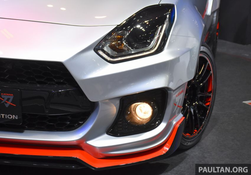 TAS 2020: Suzuki Swift Sport Katana Edition revealed Image #1068700