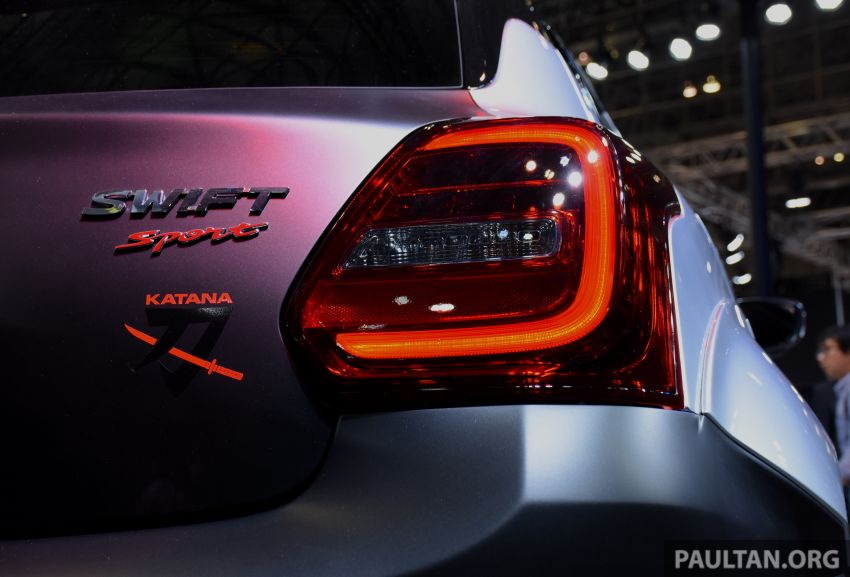 TAS 2020: Suzuki Swift Sport Katana Edition revealed Image #1068710