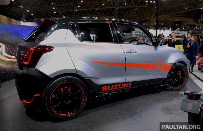 TAS 2020: Suzuki Swift Sport Katana Edition revealed Image #1068711