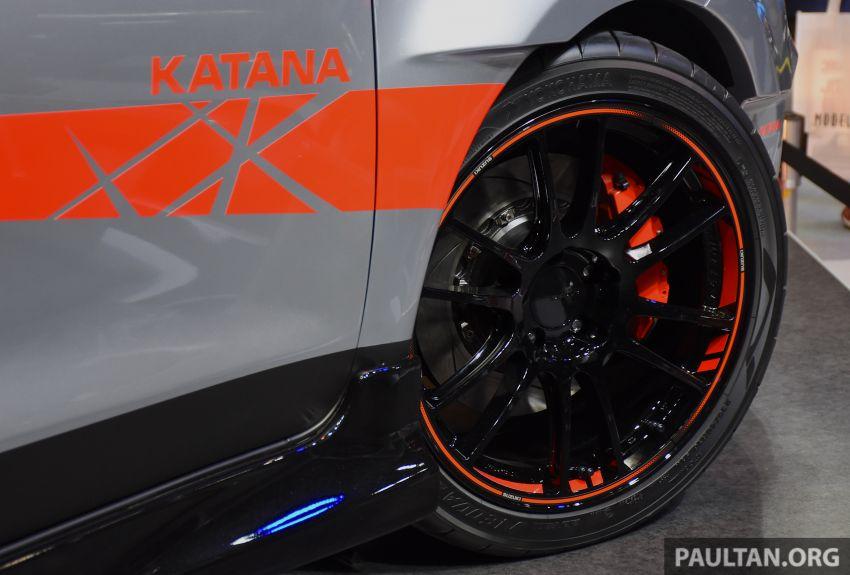 TAS 2020: Suzuki Swift Sport Katana Edition revealed Image #1068713