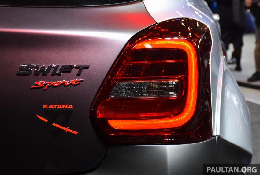 TAS 2020: Suzuki Swift Sport Katana Edition revealed Image #1068716