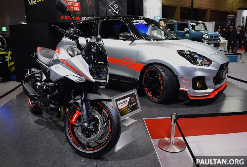 TAS 2020: Suzuki Swift Sport Katana Edition revealed Image #1068721