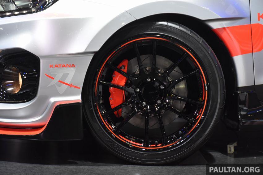 TAS 2020: Suzuki Swift Sport Katana Edition revealed Image #1068702