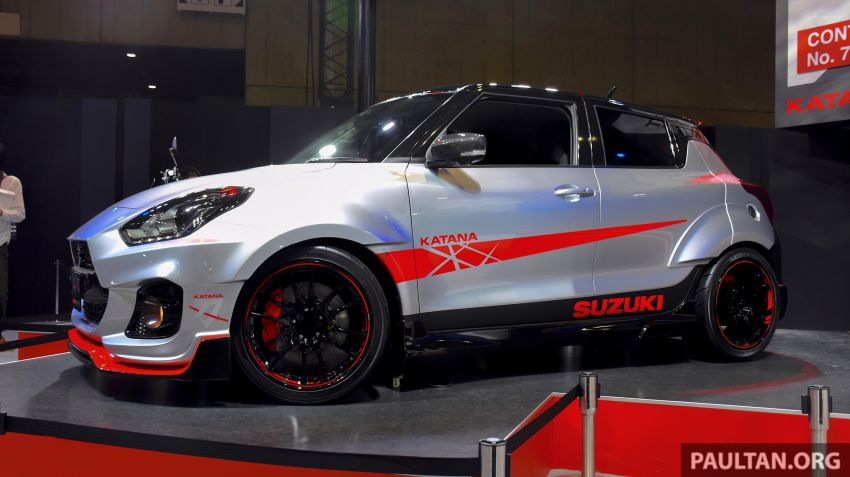TAS 2020: Suzuki Swift Sport Katana Edition revealed Image #1068703