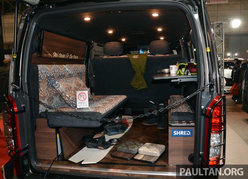 TAS2020: Toyota Hiace OGUshow Transporter Iseya Model II – pamer ruang dalaman ala-nusantara Image #1072061
