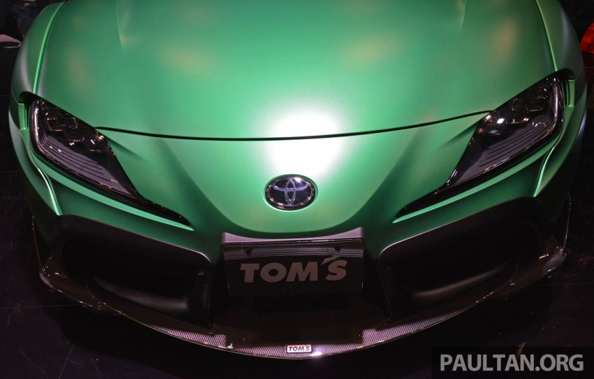 TAS 2020: A90 Toyota GR Supra left, right and centre Image #1073468