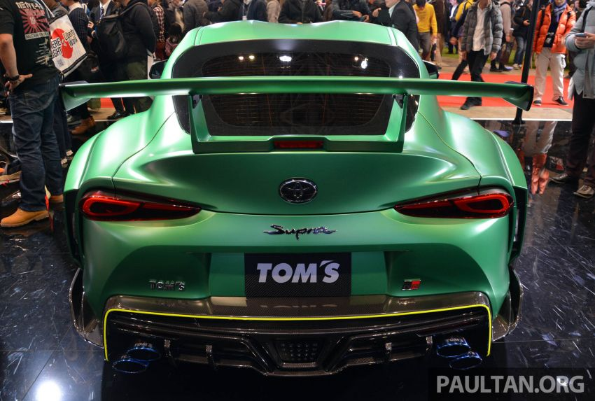 TAS 2020: A90 Toyota GR Supra left, right and centre Image #1073471