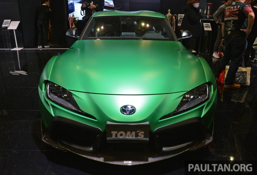 TAS 2020: A90 Toyota GR Supra left, right and centre Image #1073475
