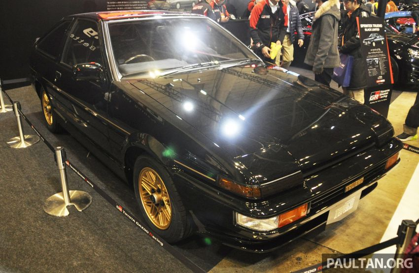 TAS 2020: Toyota 86 Black Limited Concept and AE86 Sprinter Trueno GT-Apex Black Limited on display Image #1069400