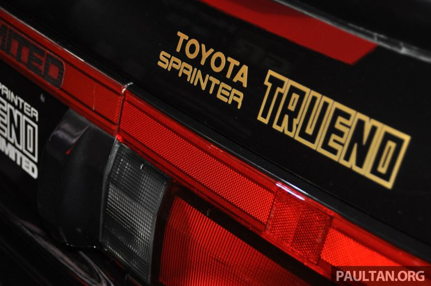 TAS 2020: Toyota 86 Black Limited Concept and AE86 Sprinter Trueno GT-Apex Black Limited on display Image #1069411