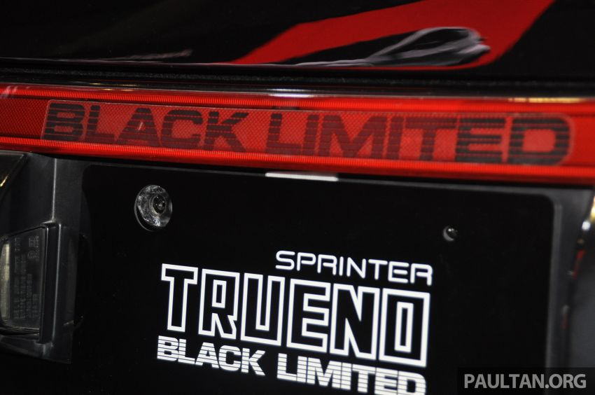 TAS 2020: Toyota 86 Black Limited Concept and AE86 Sprinter Trueno GT-Apex Black Limited on display Image #1069412