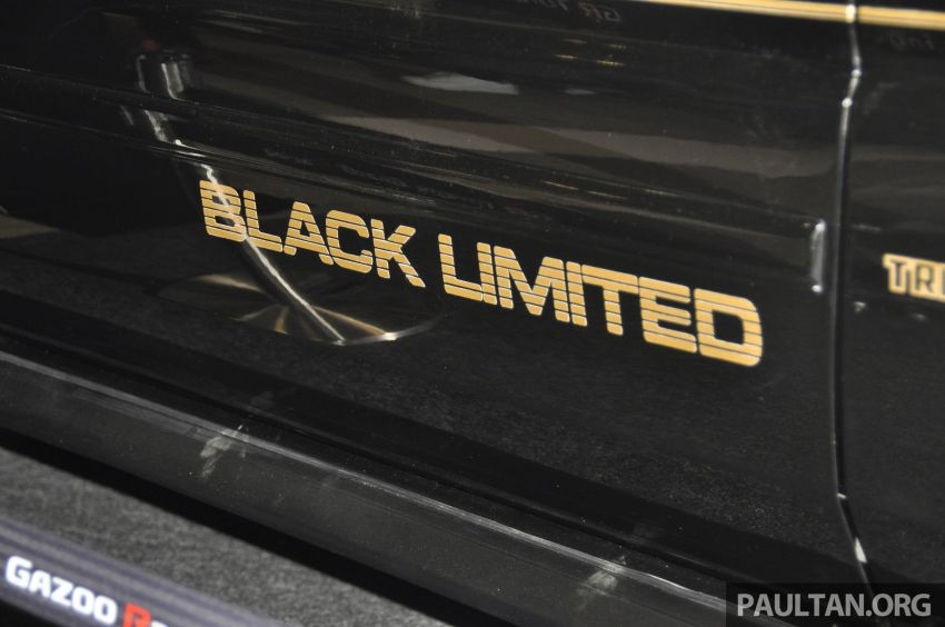 TAS 2020: Toyota 86 Black Limited Concept and AE86 Sprinter Trueno GT-Apex Black Limited on display Image #1069414