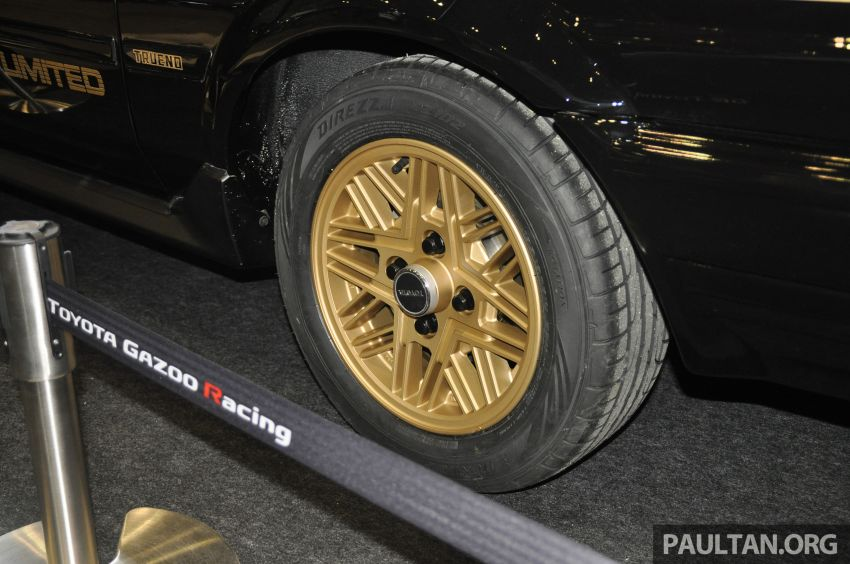 TAS 2020: Toyota 86 Black Limited Concept and AE86 Sprinter Trueno GT-Apex Black Limited on display Image #1069415