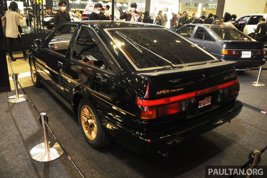 TAS 2020: Toyota 86 Black Limited Concept and AE86 Sprinter Trueno GT-Apex Black Limited on display Image #1069417
