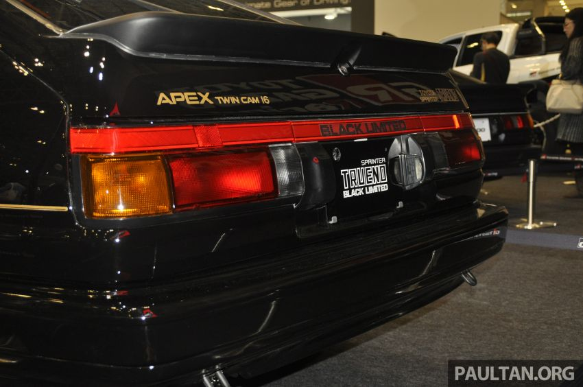 TAS 2020: Toyota 86 Black Limited Concept and AE86 Sprinter Trueno GT-Apex Black Limited on display Image #1069419