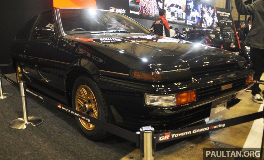 TAS 2020: Toyota 86 Black Limited Concept and AE86 Sprinter Trueno GT-Apex Black Limited on display Image #1069402