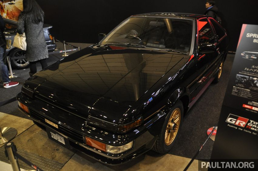 TAS 2020: Toyota 86 Black Limited Concept and AE86 Sprinter Trueno GT-Apex Black Limited on display Image #1069421