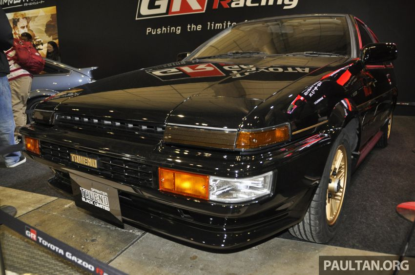 TAS 2020: Toyota 86 Black Limited Concept and AE86 Sprinter Trueno GT-Apex Black Limited on display Image #1069423