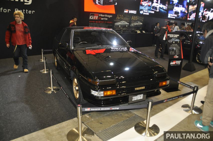 TAS 2020: Toyota 86 Black Limited Concept and AE86 Sprinter Trueno GT-Apex Black Limited on display Image #1069424