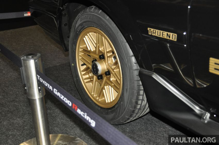 TAS 2020: Toyota 86 Black Limited Concept and AE86 Sprinter Trueno GT-Apex Black Limited on display Image #1069405