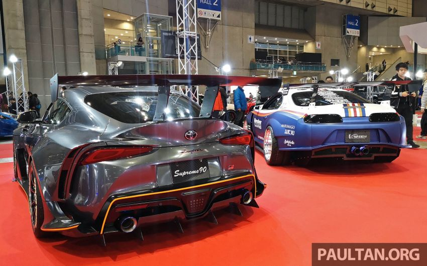 TAS 2020: A90 Toyota GR Supra left, right and centre Image #1073596