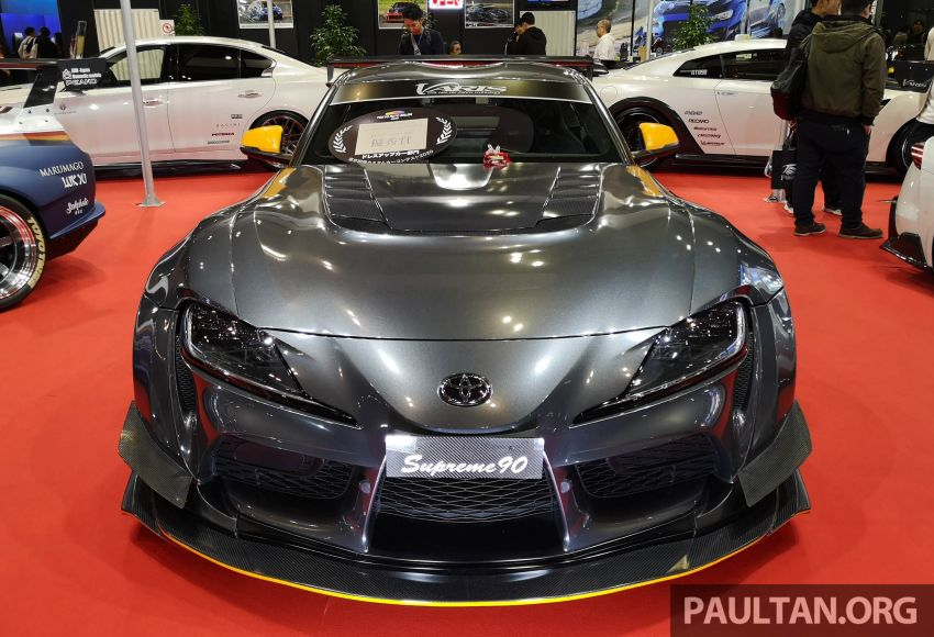TAS 2020: A90 Toyota GR Supra left, right and centre Image #1073597