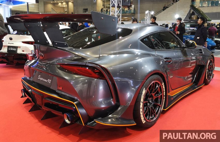TAS 2020: A90 Toyota GR Supra left, right and centre Image #1073599