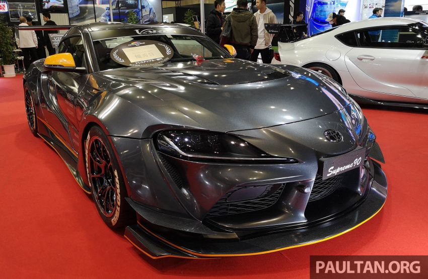 TAS 2020: A90 Toyota GR Supra left, right and centre Image #1073601