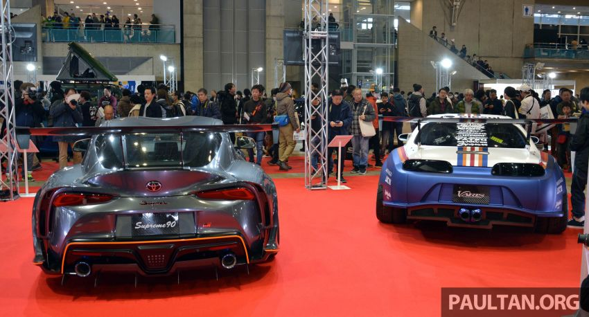 TAS 2020: A90 Toyota GR Supra left, right and centre Image #1073586