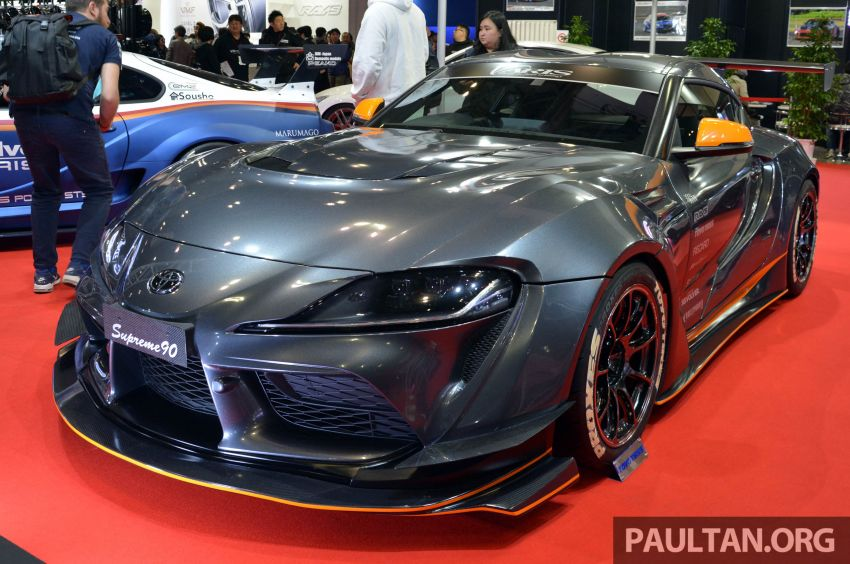 TAS 2020: A90 Toyota GR Supra left, right and centre Image #1073589