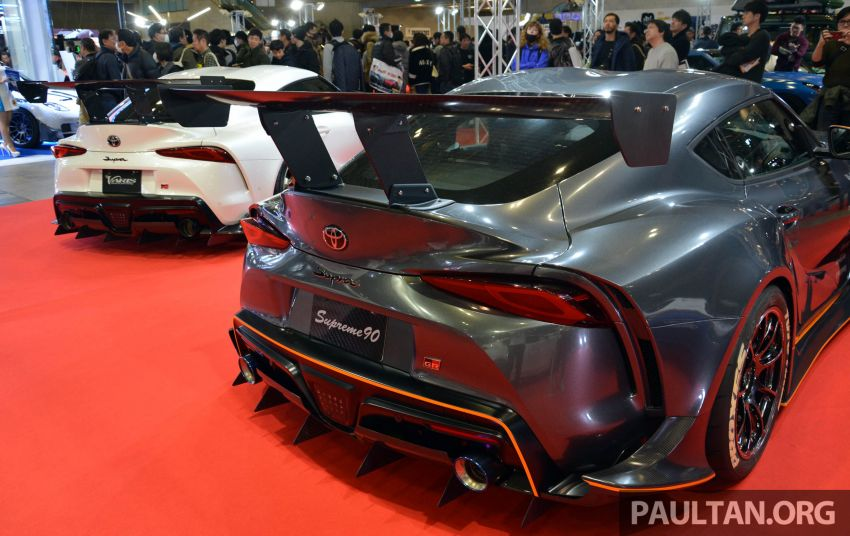 TAS 2020: A90 Toyota GR Supra left, right and centre Image #1073590