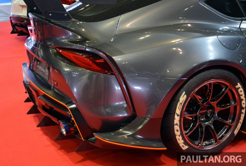 TAS 2020: A90 Toyota GR Supra left, right and centre Image #1073591