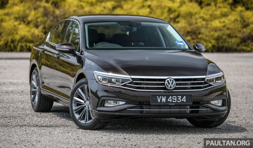 FIRST DRIVE: 2020 Volkswagen Passat 2.0 TSI review Image #1074756