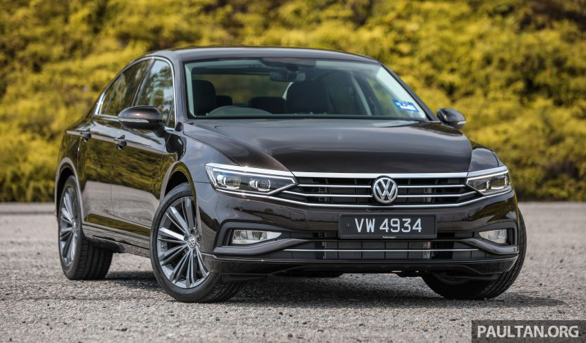 FIRST DRIVE: 2020 Volkswagen Passat 2.0 TSI review Image #1074757