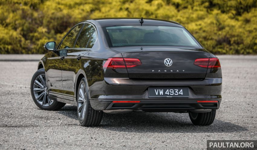 FIRST DRIVE: 2020 Volkswagen Passat 2.0 TSI review Image #1074760