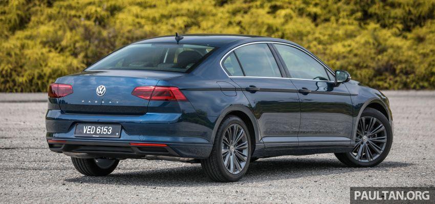 FIRST DRIVE: 2020 Volkswagen Passat 2.0 TSI review Image #1074723